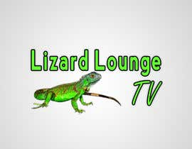 #37 para Logo design for live event streaming website: Lizard Lounge Tv por stajera