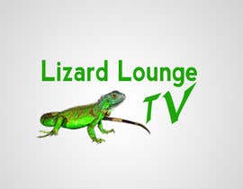 #38 para Logo design for live event streaming website: Lizard Lounge Tv por stajera