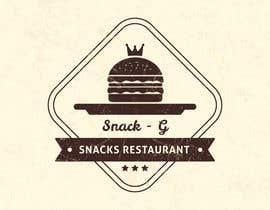 aajmanzalawy tarafından Design a Logo for: Snacks Restaurant için no 35