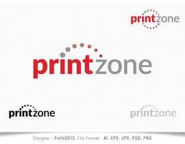 Nro 107 kilpailuun Design a Logo for Printzone käyttäjältä putih2013