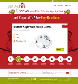 #26 for Design a Website Mockup for Weight Loss Website by suryabeniwal