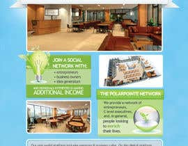 nº 10 pour Graphic Design for Flyer for PolarPointe.com, the entrepreneurs social network. par reesepeaces
