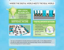#5 para Graphic Design for Flyer for PolarPointe.com, the entrepreneurs social network. por reesepeaces