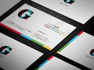 Design a editable buisness card for a webagency contest winner