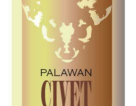 #126 para LOGO & CIVET CAT design for our product package (Quick Project) por CatalinaPlaino