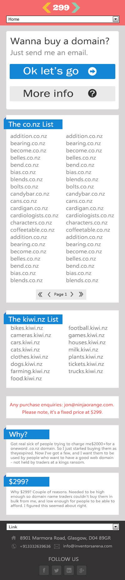 #10 for Build a Website for 299.co.nz by friendprogrammer