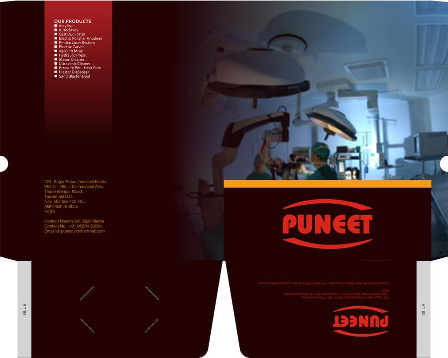 #6 for Design a Brochure for an Engineering Company by barinix