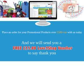 Nro 6 kilpailuun Order Promotional Products Today Flyer käyttäjältä sherlynivethag12