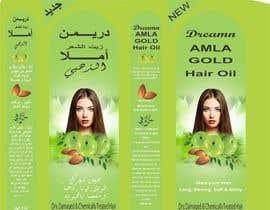 Nro 4 kilpailuun Revamp the existing design of Amla Hair Oil Label and Mono Carton käyttäjältä maidang34