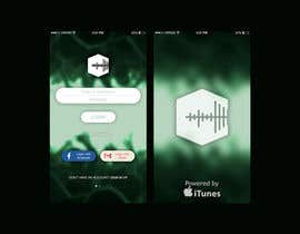 #6 for Design Mobile App Splash and Login Screen by zymong