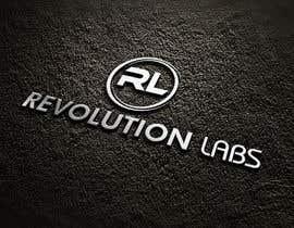 Nro 43 kilpailuun Revolution Labs Logo käyttäjältä gauravparjapati