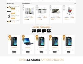 Nro 10 kilpailuun Re-Design a Website käyttäjältä Makkina