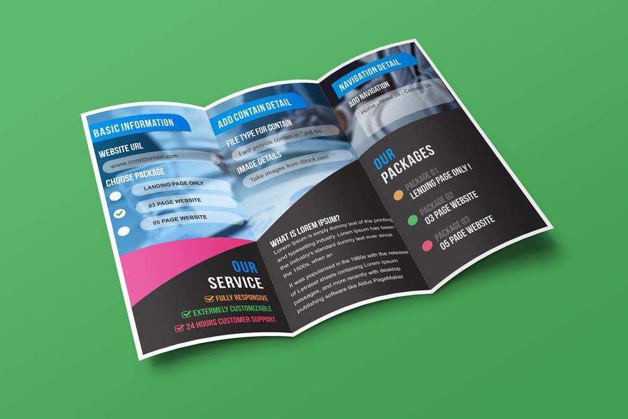Konkurrenceindlæg #8 for Design a Brochure
