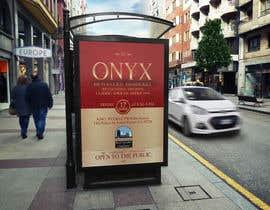 Nro 13 kilpailuun Design a Flyer- Onyx 100 Honoree Reception käyttäjältä MooN5729