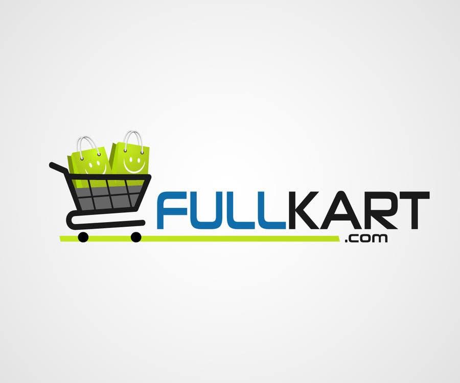 #87 for Design a logo for a shopping website www.fullkart.com by laniegajete