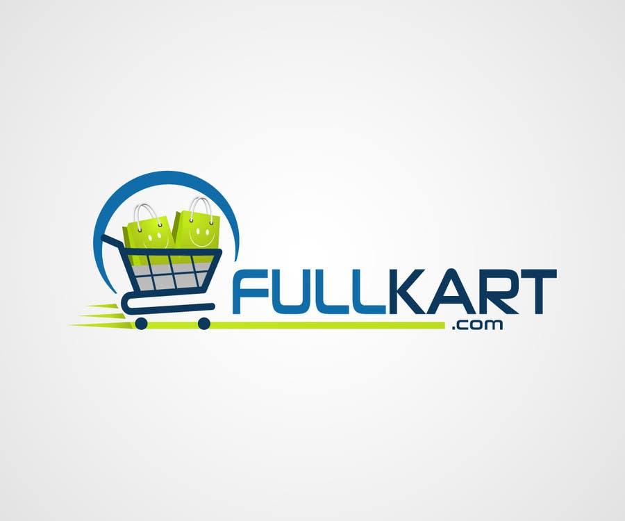 #146 for Design a logo for a shopping website www.fullkart.com by laniegajete