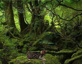 "nº 11 pour Create an amazing ""wild background"" for pics of my cat par Mihichot"
