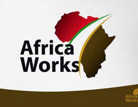 #3 para Logo Design for Africa Works por RobertoValenzi