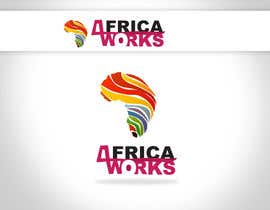 nº 299 pour Logo Design for Africa Works par linxoo