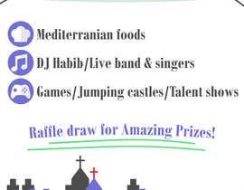 Nro 9 kilpailuun church festival poster käyttäjältä sabardinadjie01