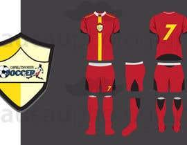 Nro 3 kilpailuun Design a soccer Jersey käyttäjältä raucau