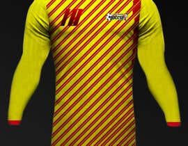 Nro 23 kilpailuun Design a soccer Jersey käyttäjältä Rhandyv