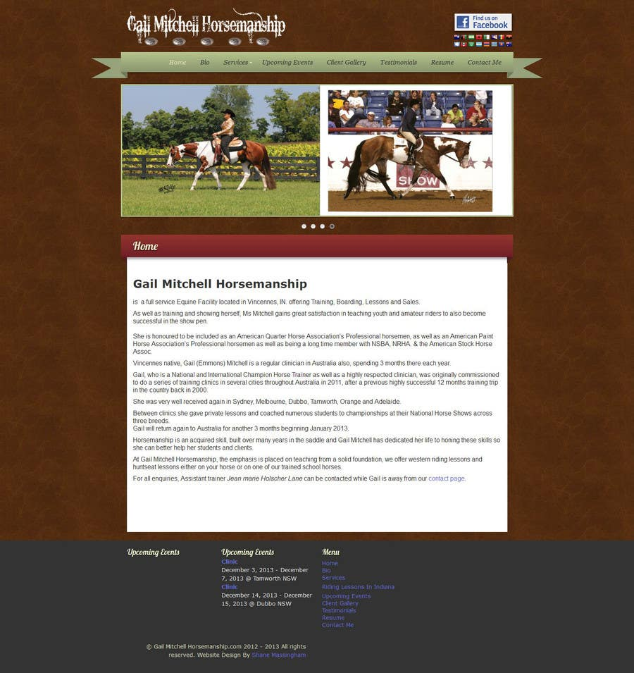 #18 for Wordpress page design addition by raymartin72