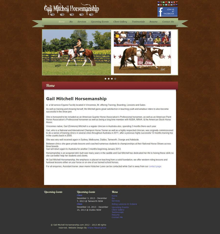 #20 for Wordpress page design addition by raymartin72