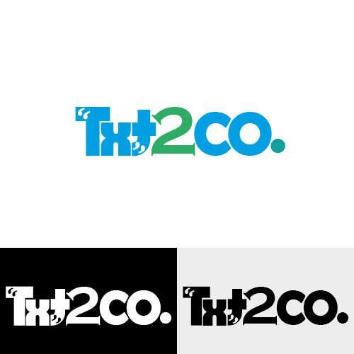 Конкурсная заявка №454 для Logo Design for Txt2 Co.