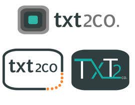nº 169 pour Logo Design for Txt2 Co. par ktapadilla