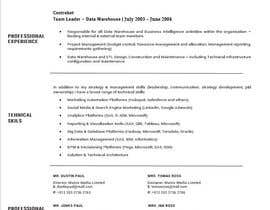 dzordzijasavic tarafından Design & Update a Resume için no 14