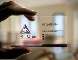 #23 for Design some Business Cards for Trice by Psynsation