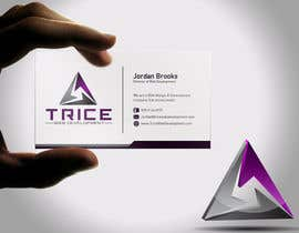 #91 for Design some Business Cards for Trice by Psynsation
