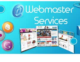 #17 para Design a Banner for website slider - Webmaster Services por vaibzs