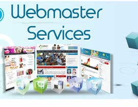 #19 para Design a Banner for website slider - Webmaster Services por vaibzs