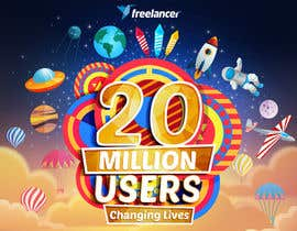 #241 for Design Contest: Freelancer.com Hits 20M Users af maleksandar90
