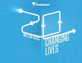 Nro 250 kilpailuun Design Contest: Freelancer.com Hits 20M Users käyttäjältä Seo07man
