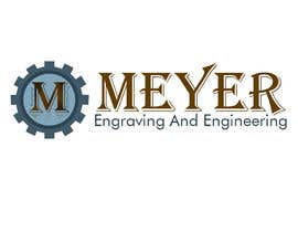 #24 para Meyer Engraving And Engineering Logo por bhoyax