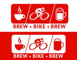 #7 for Design a Logo for Brew Bike Brew af marauus