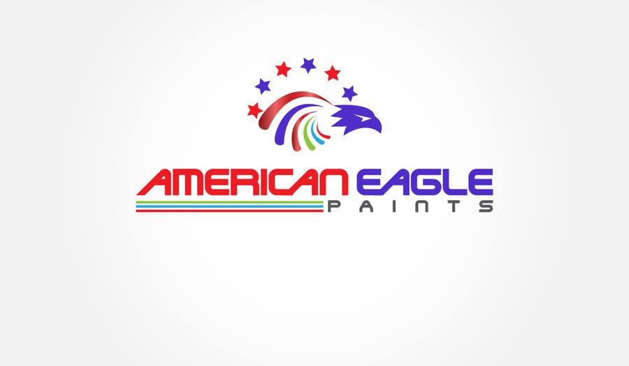 Kilpailutyö #5 kilpailussa Design a Logo for AMERICAN EAGLE PAINTS