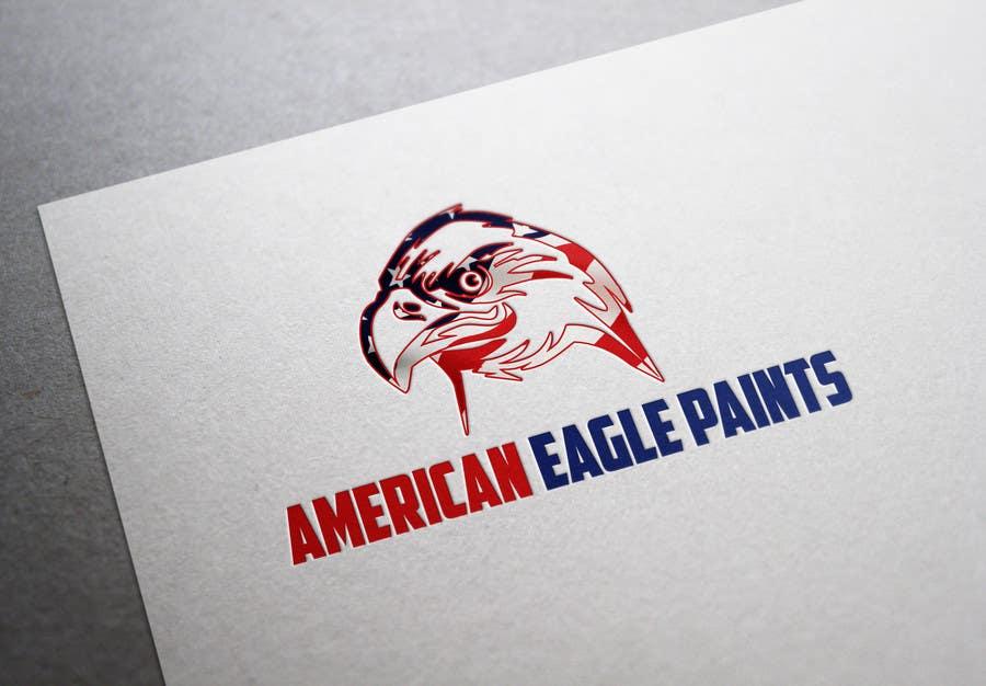 Kilpailutyö #25 kilpailussa Design a Logo for AMERICAN EAGLE PAINTS