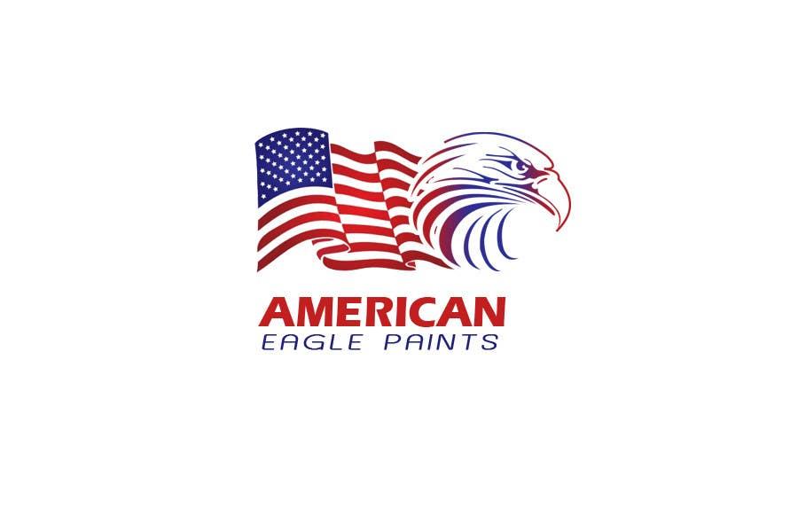 Kilpailutyö #26 kilpailussa Design a Logo for AMERICAN EAGLE PAINTS