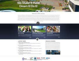 MagicalDesigner tarafından Design a Website Mockup for  Education Center için no 10