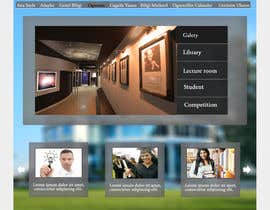 Marusea tarafından Design a Website Mockup for  Education Center için no 6