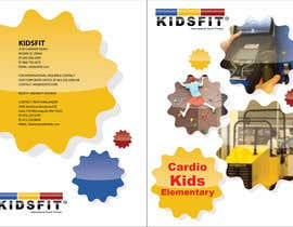 #15 para KidsFit Brochure making and Catalogue redesigning por NexusDezign