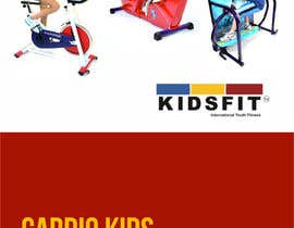 nº 4 pour KidsFit Brochure making and Catalogue redesigning par barinix