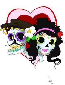#15 for Day of the Dead - Sugar Skull Design / Cartoon / Illustration by fcontreras86