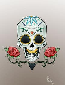 #27 for Day of the Dead - Sugar Skull Design / Cartoon / Illustration by fcontreras86