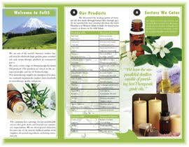 nº 11 pour Design a Brochure for Essential Oil/Aromatherapy par marcia2