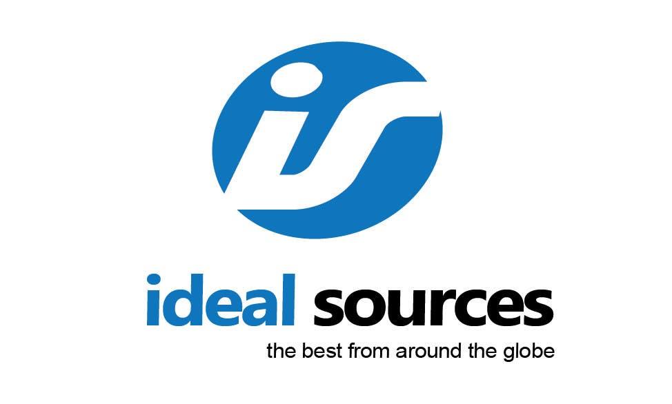 Penyertaan Peraduan #                                        24                                      untuk                                         Logo Design for ideal sources